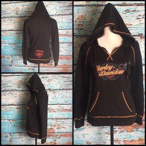 Harley-Davidson Black Pullover Hoodie